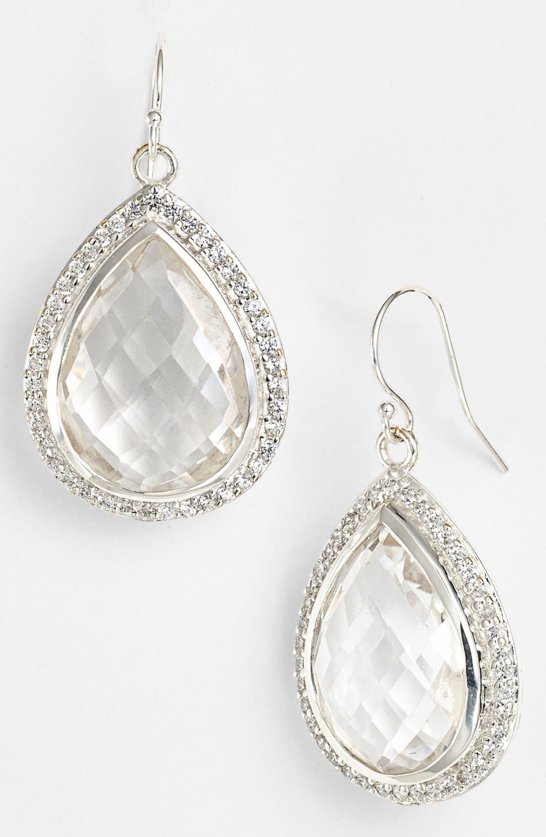 Main Image - NuNu Designs Large Teardrop Earrings