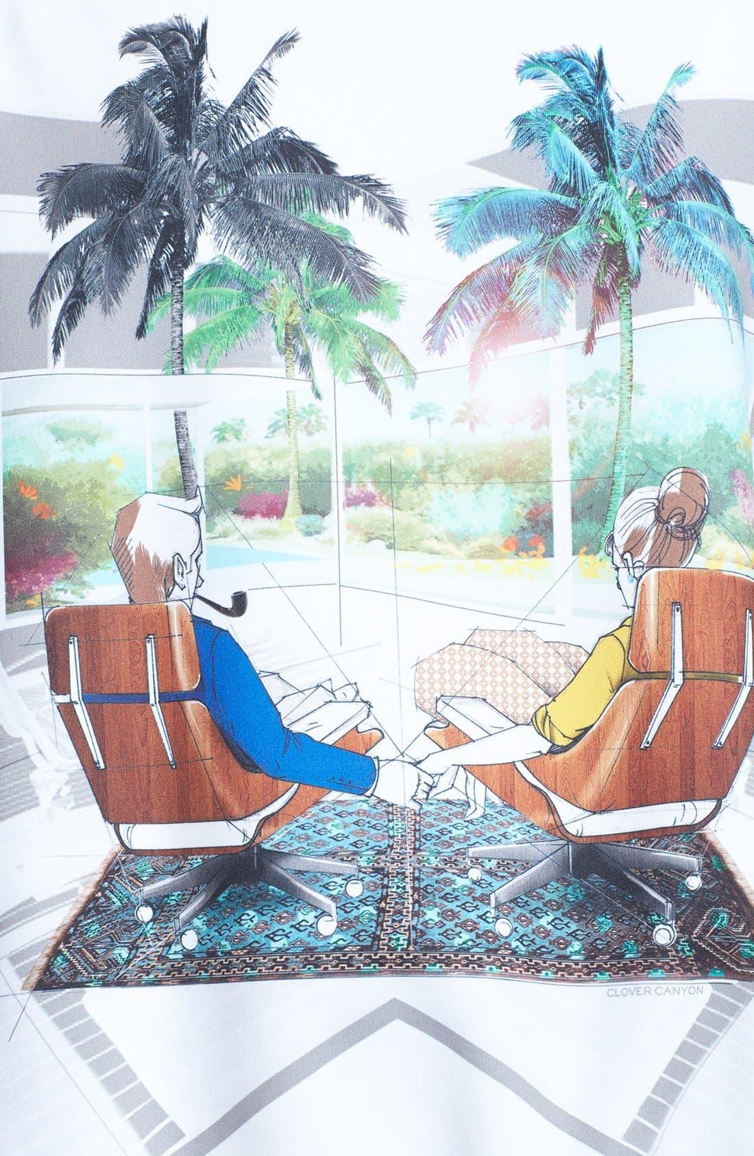 Alternate Image 3  - Clover Canyon 'Eames Couple' Sweatshirt
