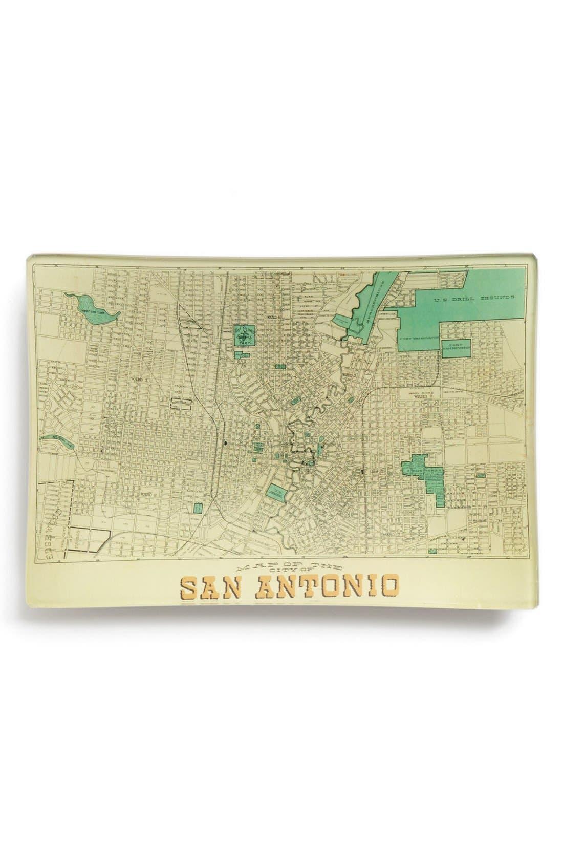 Alternate Image 1 Selected - Ben's Garden 'San Antonio Map' Tray