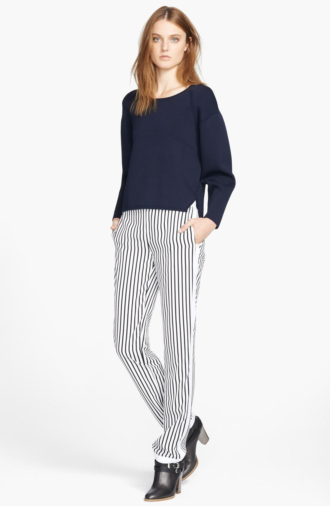 Alternate Image 4  - J Brand Ready-To-Wear 'Delia' Stripe Trousers
