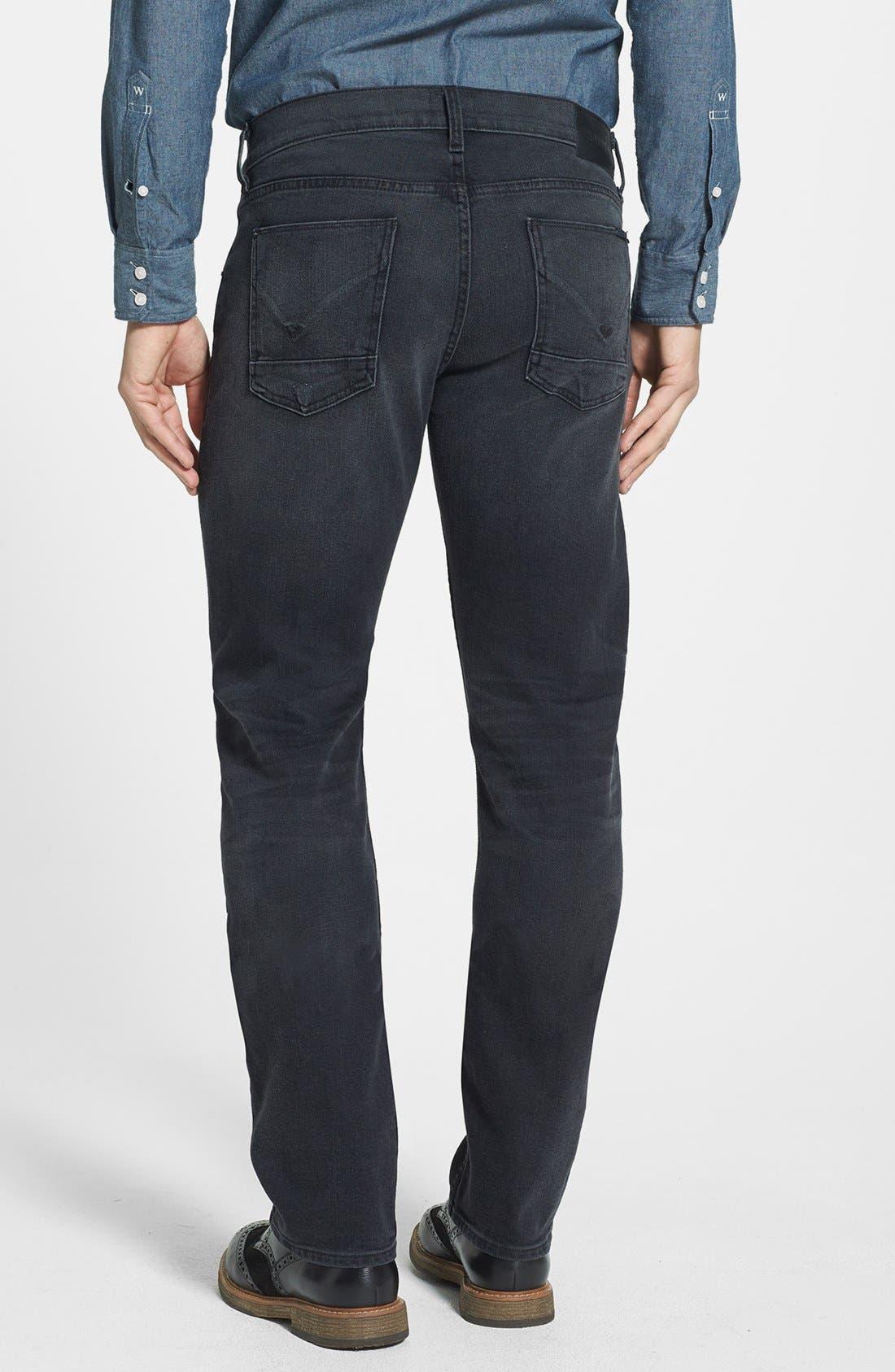 Alternate Image 2  - Hudson Jeans 'Byron' Straight Leg Jeans (Legion)