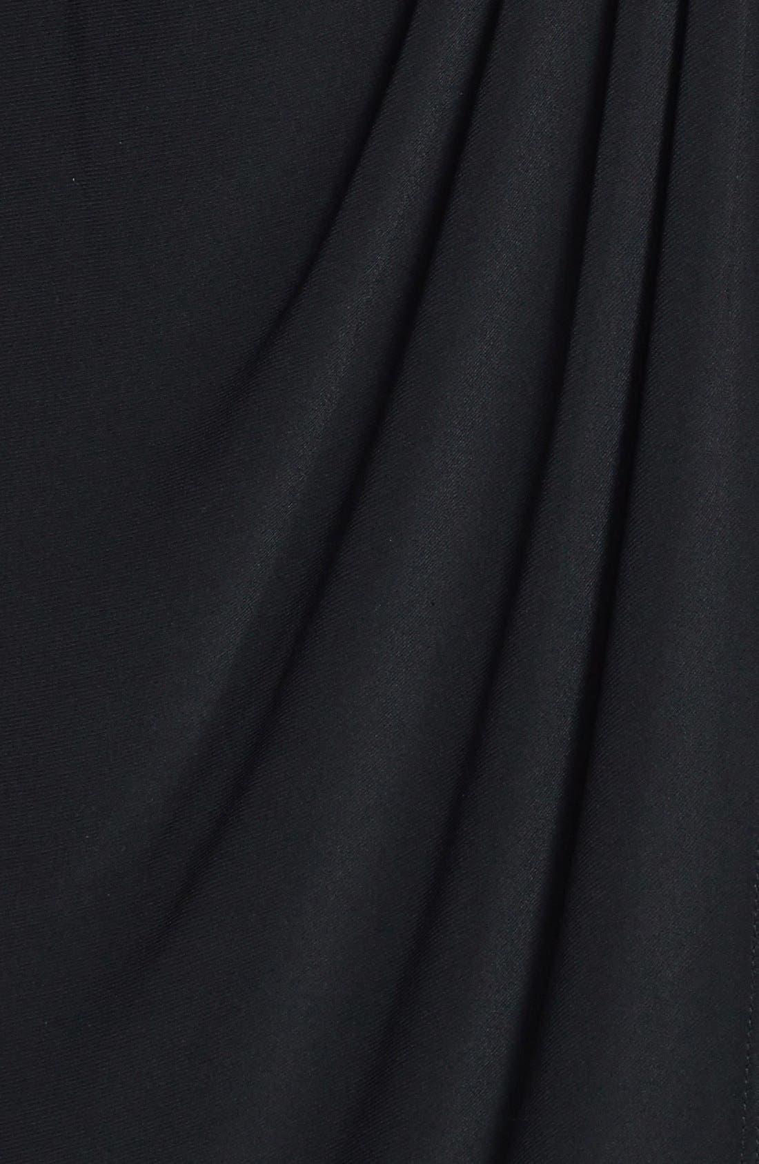 Alternate Image 4  - Marina Embellished Cold Shoulder Jersey Blouson Dress