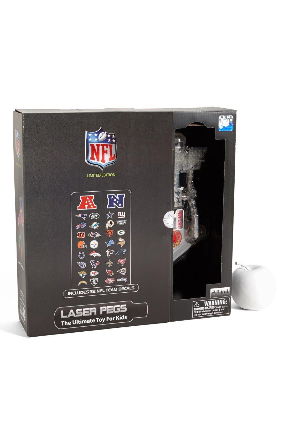 Alternate Image 1 Selected - Laser Pegs 'NFL' 24-in-1 Robot