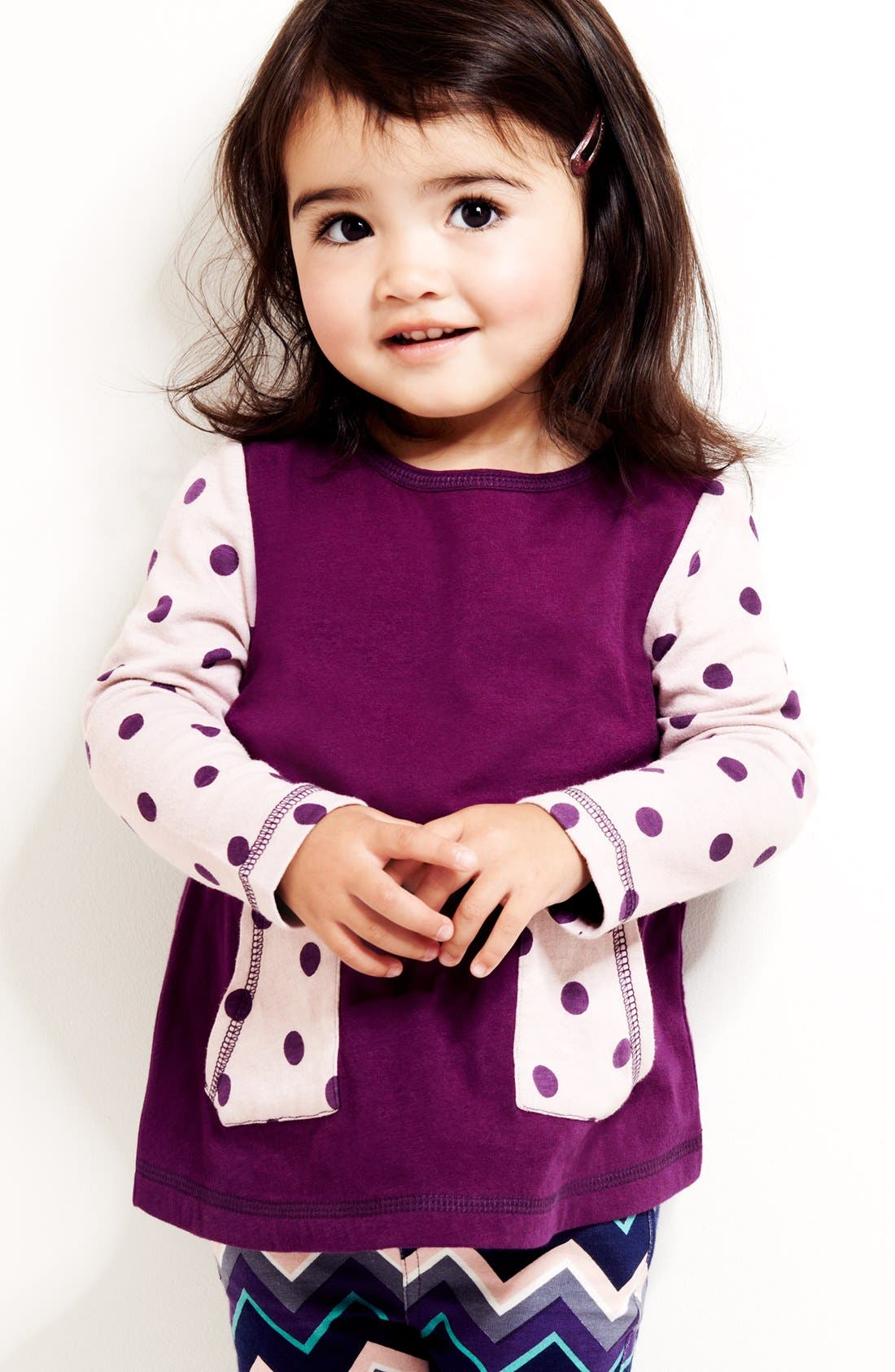 Alternate Image 2  - Tucker + Tate 'Steph' Organic Cotton Tunic (Baby Girls)