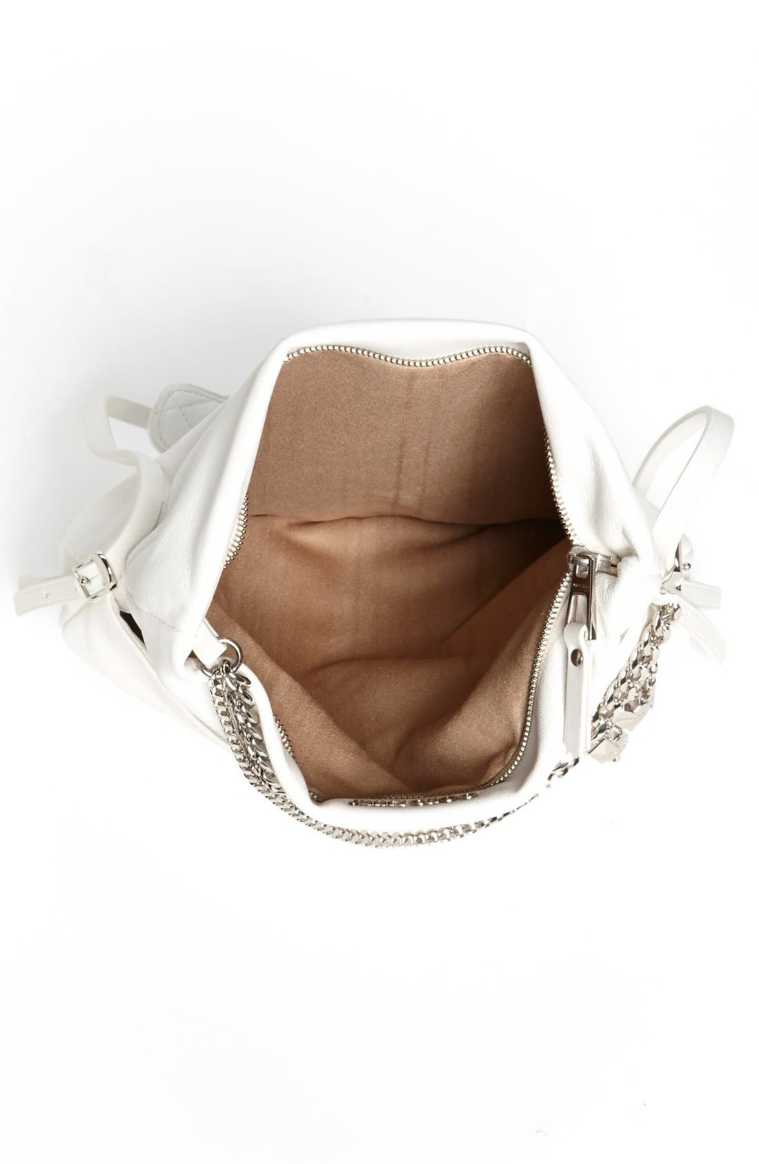 Alternate Image 3  - Jimmy Choo 'Biker - Small' Leather Crossbody Bag