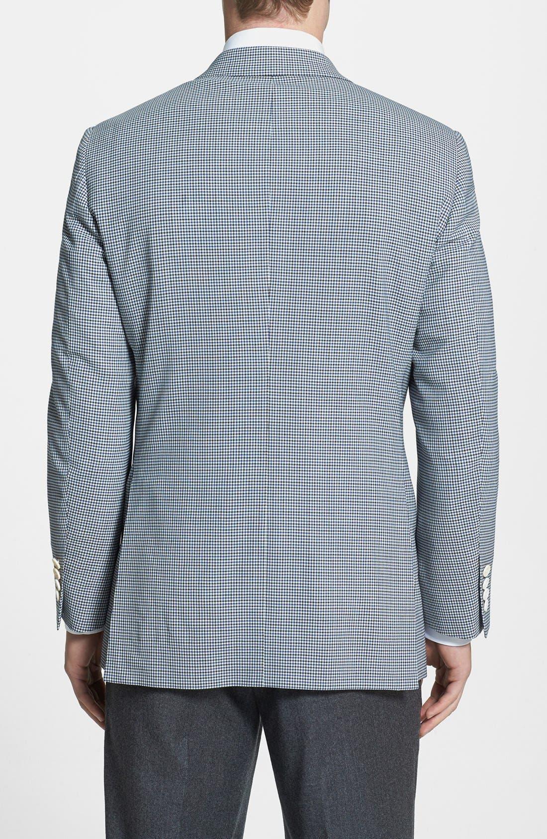 Alternate Image 2  - Samuelsohn Classic Fit Check Sportcoat
