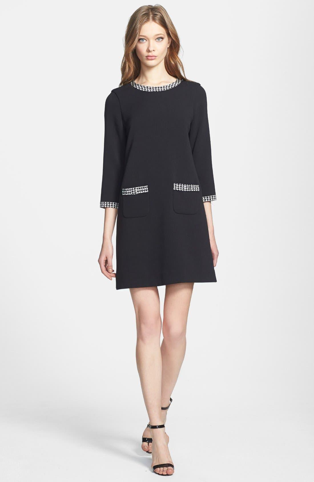 Main Image - kate spade new york 'wray' stretch shift dress
