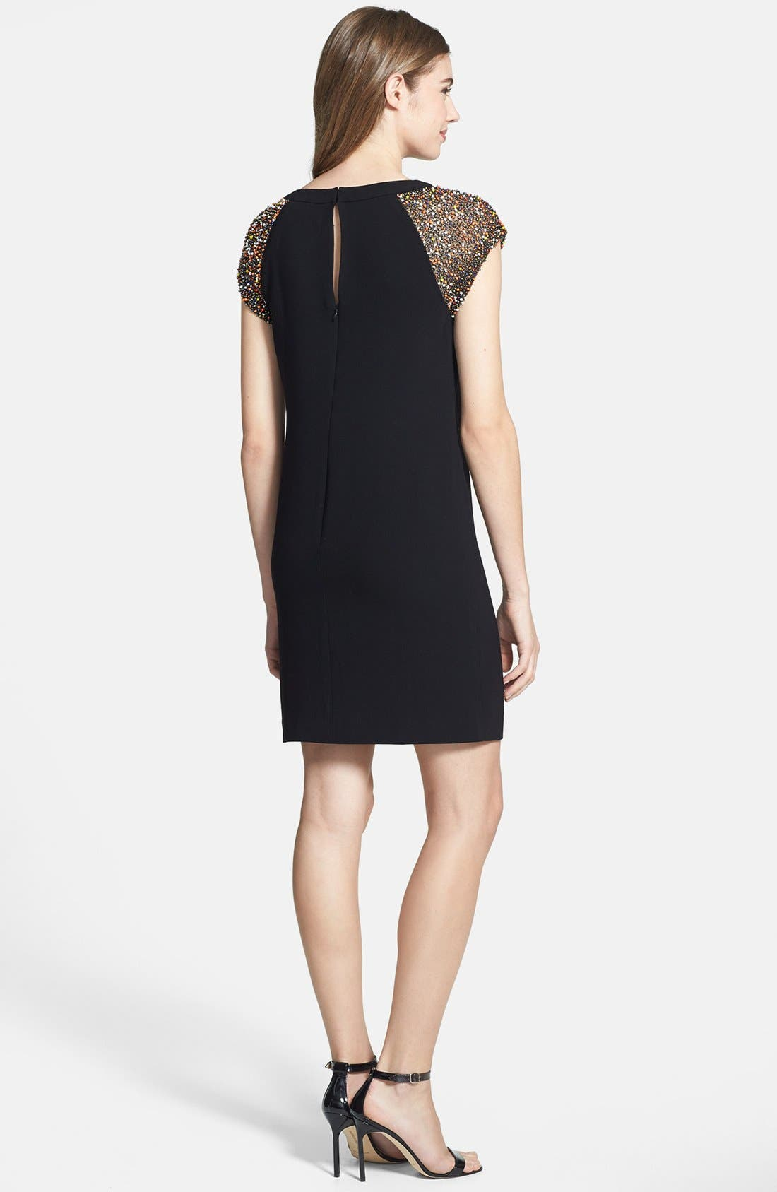 Alternate Image 2  - Trina Turk 'Nettle' Embellished Crepe Dress