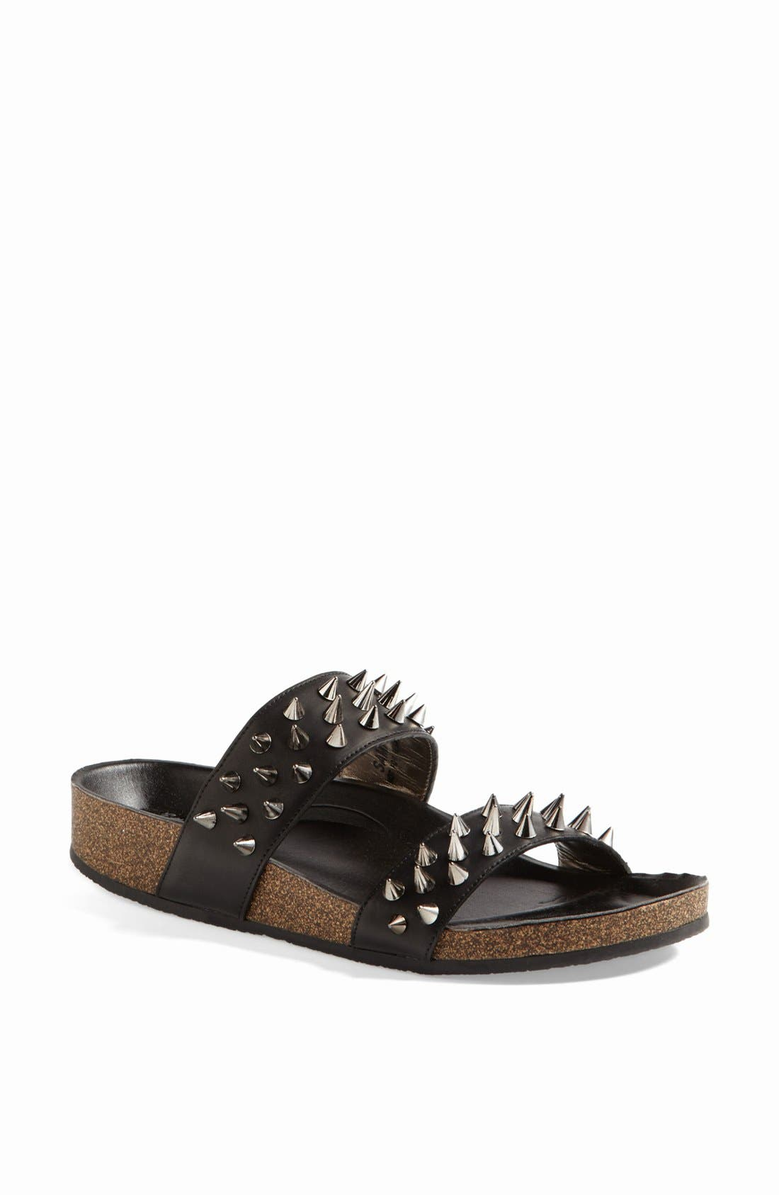 'Ace' Sandal,                         Main,                         color, Black