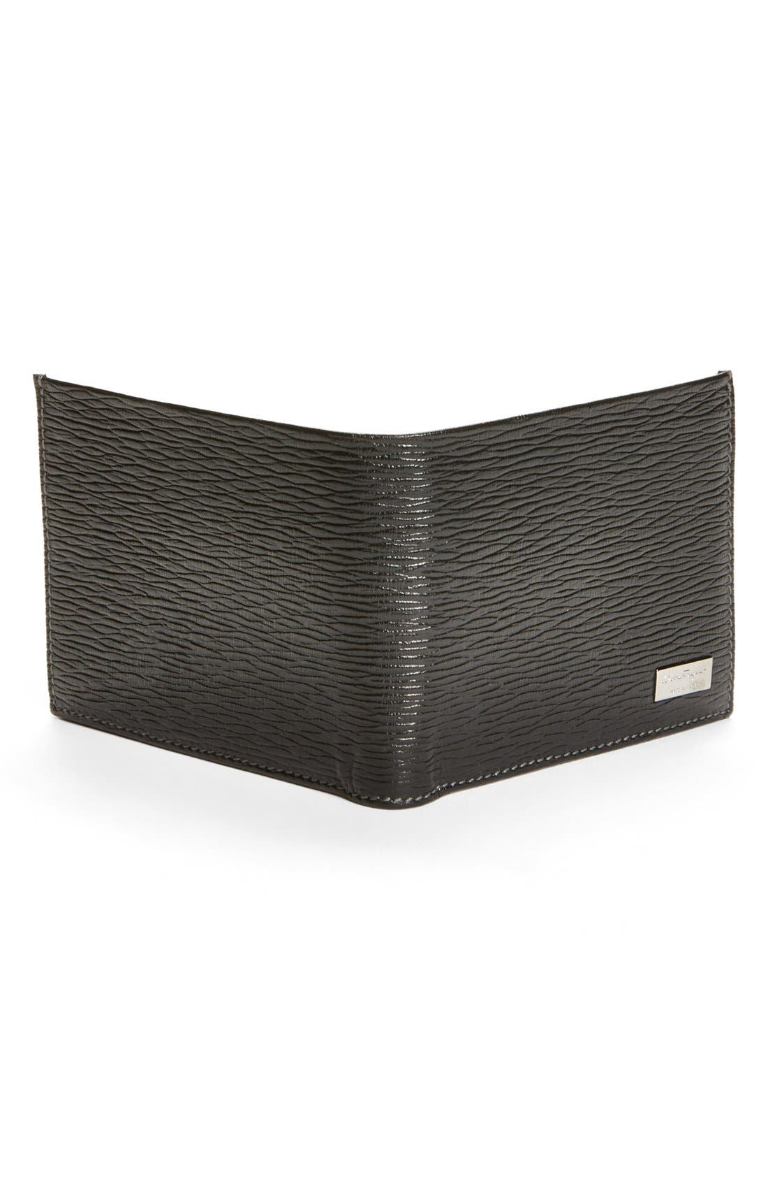 Alternate Image 3  - Salvatore Ferragamo Stamped Calf Wallet