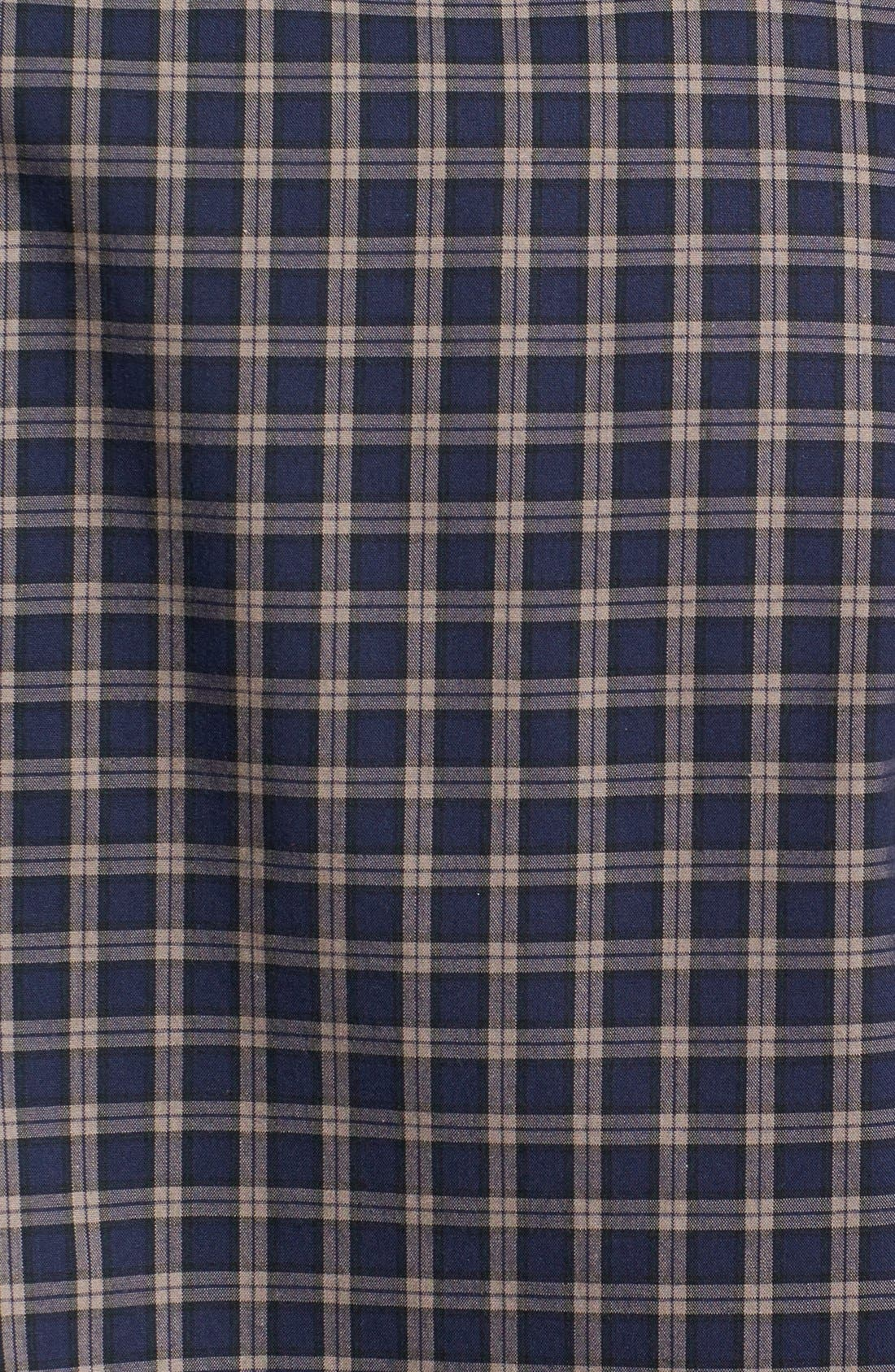 Alternate Image 3  - Nordstrom Smartcare™ Trim Fit Plaid Sport Shirt