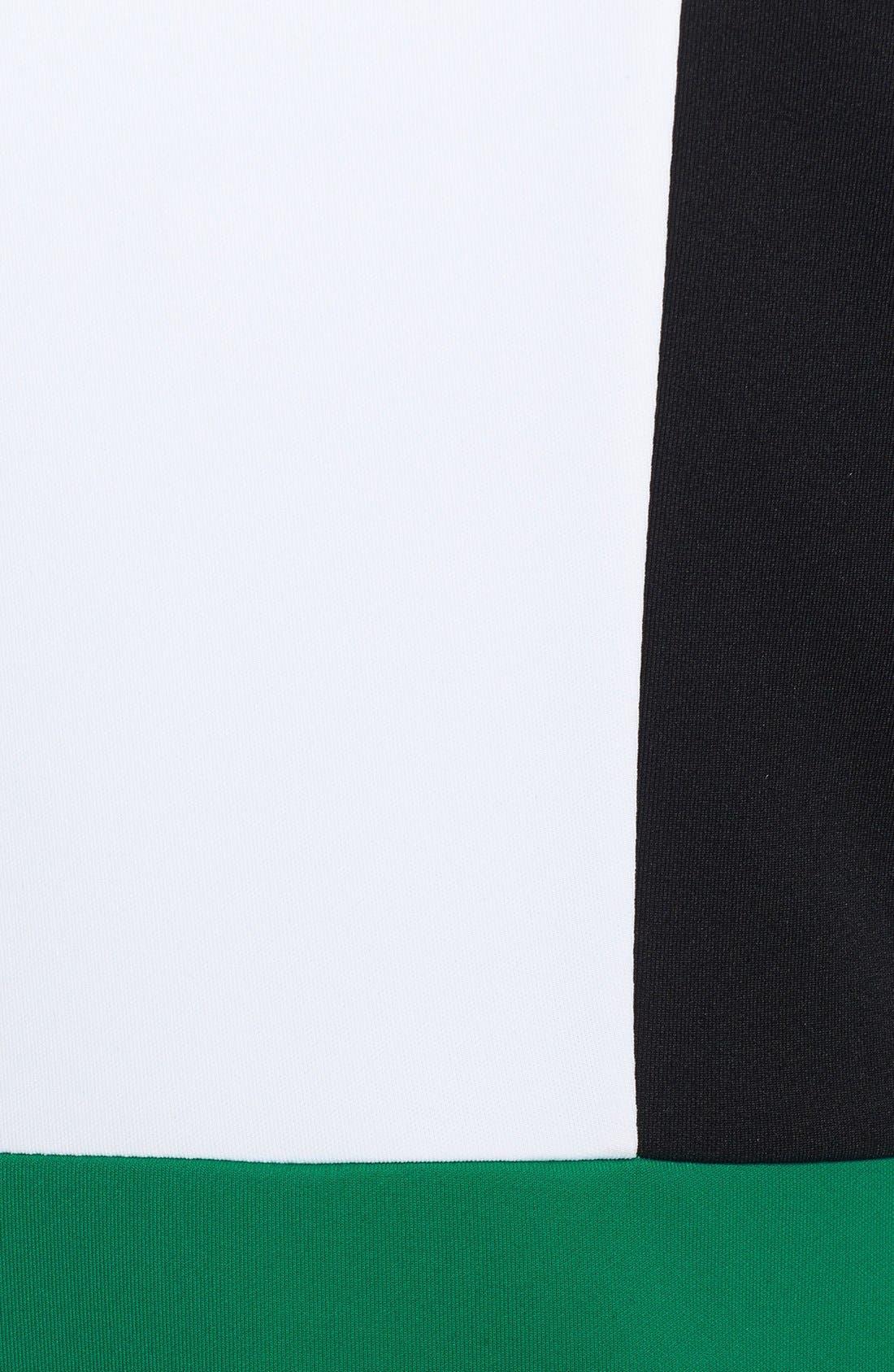 Alternate Image 4  - Isaac Mizrahi New York Colorblock Shift Dress