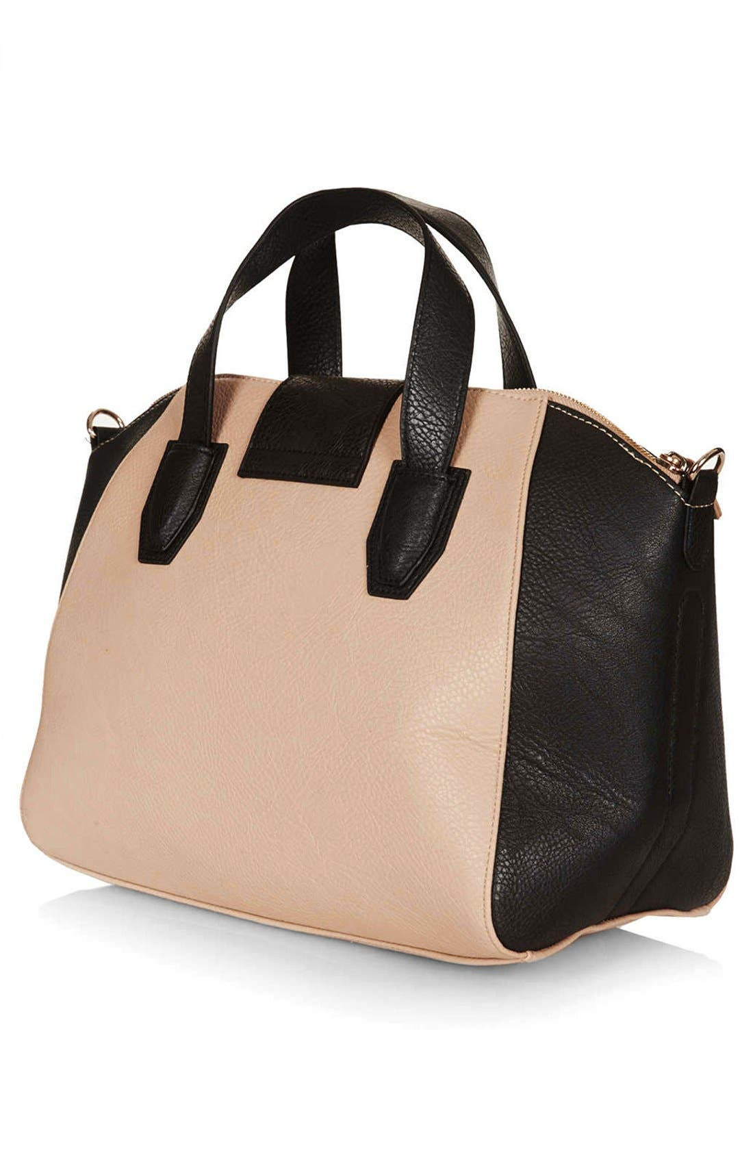 Alternate Image 4  - Topshop 'Evian' Satchel, Medium