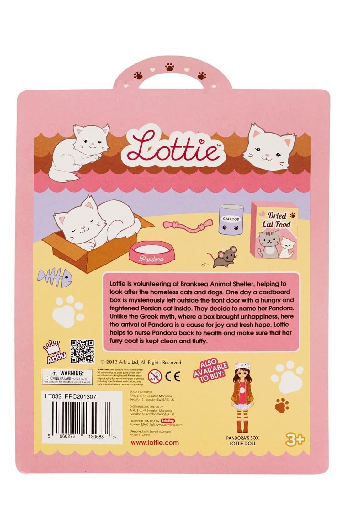 Alternate Image 7  - Schylling 'Pandora the Persian Cat' Lottie™ Doll Accessory Set