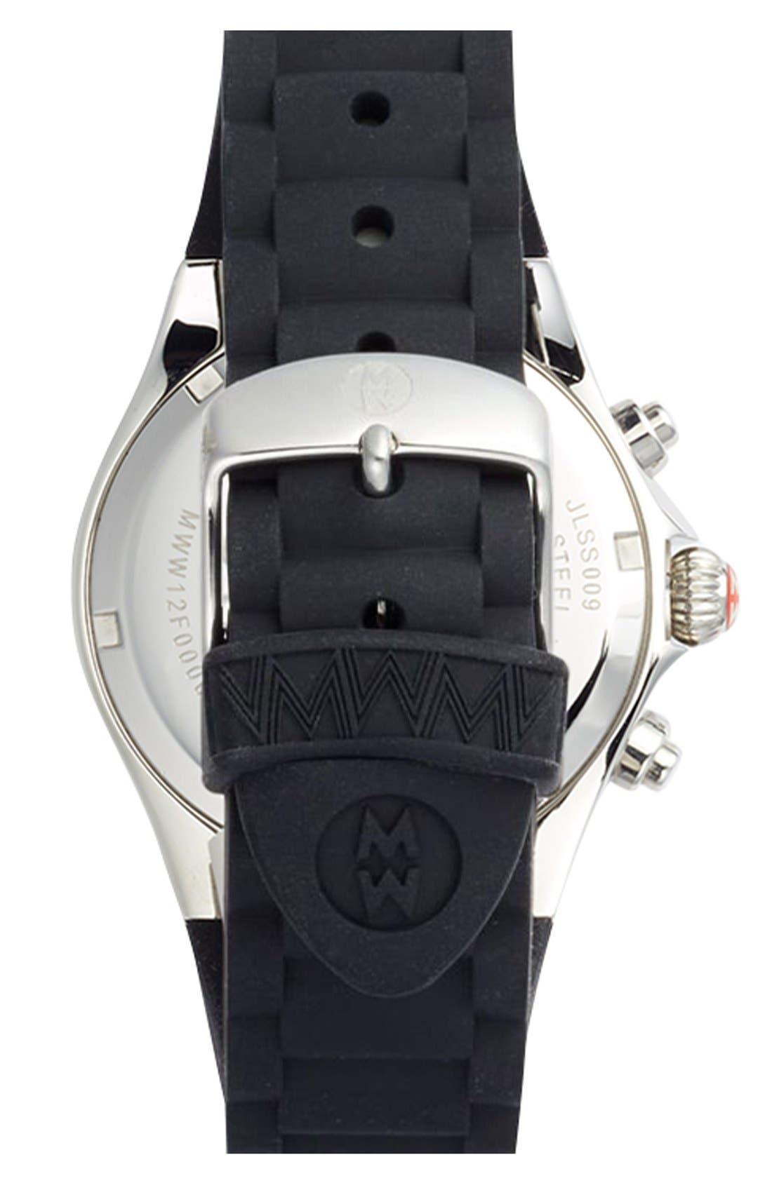 Alternate Image 2  - MICHELE 'Tahitian Jelly Bean Carousel' Watch, 40mm