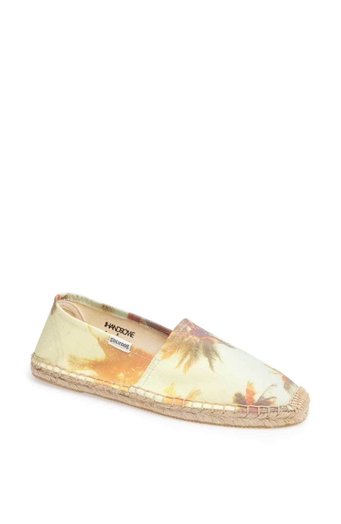 Alternate Image 1 Selected - We Are Handsome x Soludos Slip-On (Limited Edition) (Women)