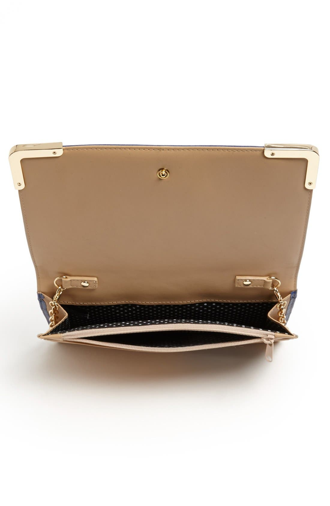 Alternate Image 3  - Trouvé Leather Crossbody Bag