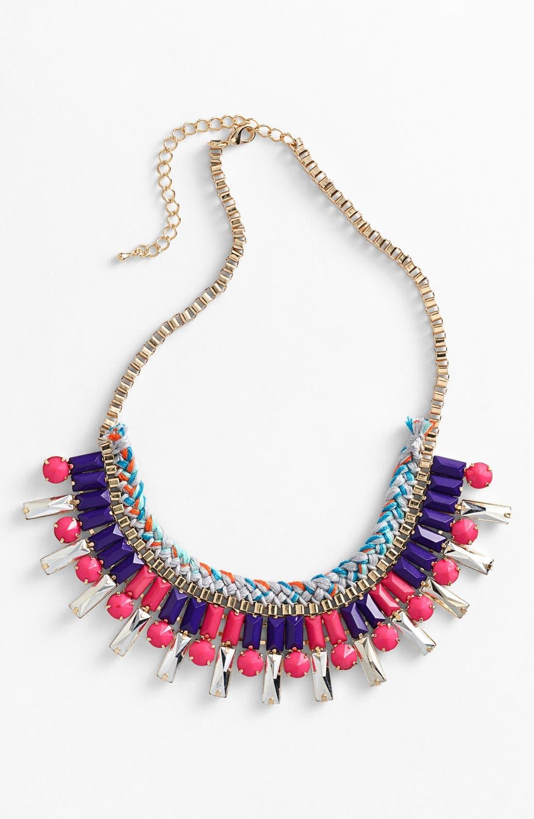 Main Image - Panacea Braided Necklace