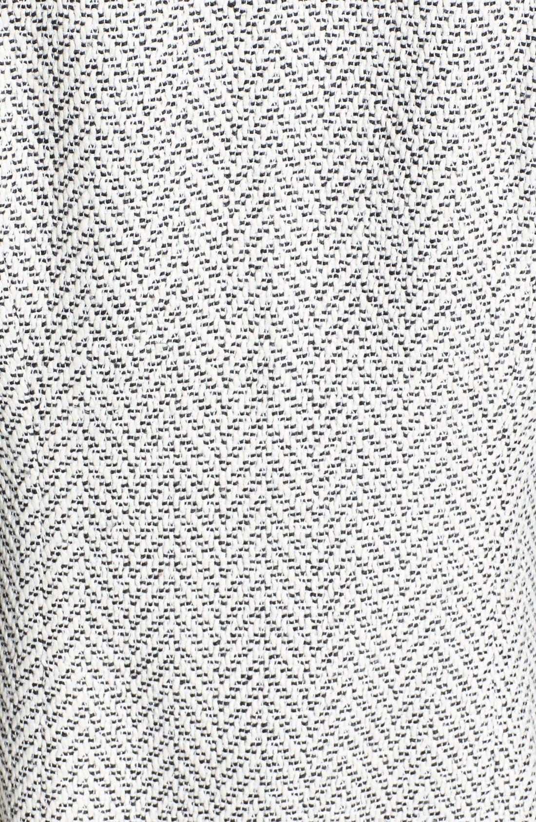 Alternate Image 3  - Glamorous Faux Leather Sleeve Knit Jacket