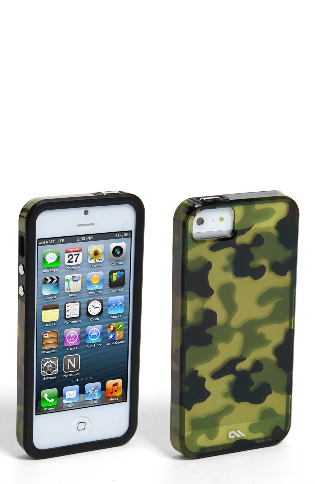 Alternate Image 1 Selected - Case-Mate® 'Caliiber - Urban Camo' iPhone 5 & 5s Case