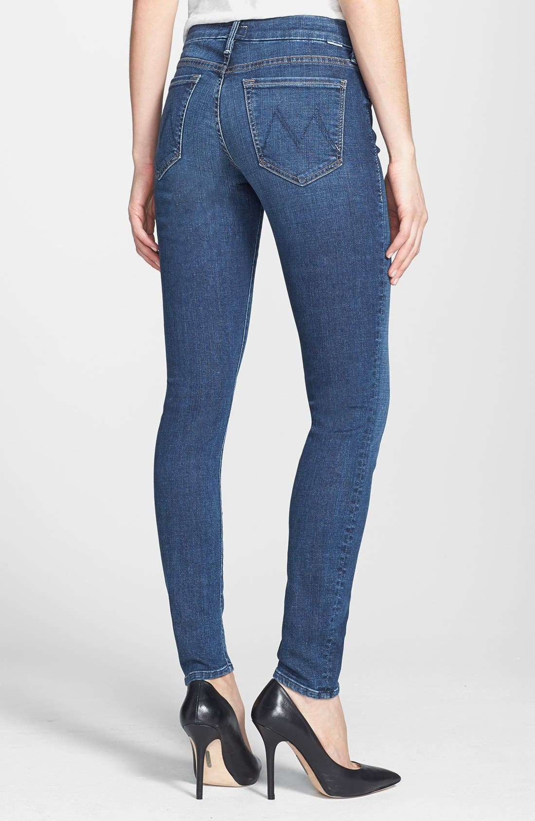 Alternate Image 2  - MOTHER 'The Looker' Skinny Jeans (Slow Ride)