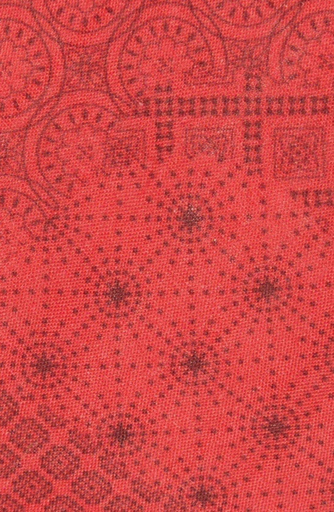 Alternate Image 2  - EDIT by The Tie Bar Geometric Linen Tie (Nordstrom Exclusive)