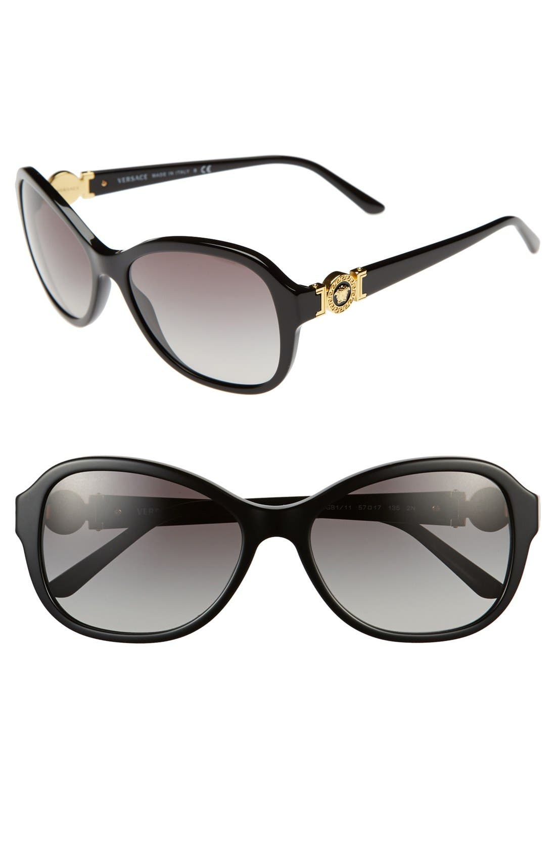 Alternate Image 1 Selected - Versace 'Rock Icons - Signature' 57mm Sunglasses