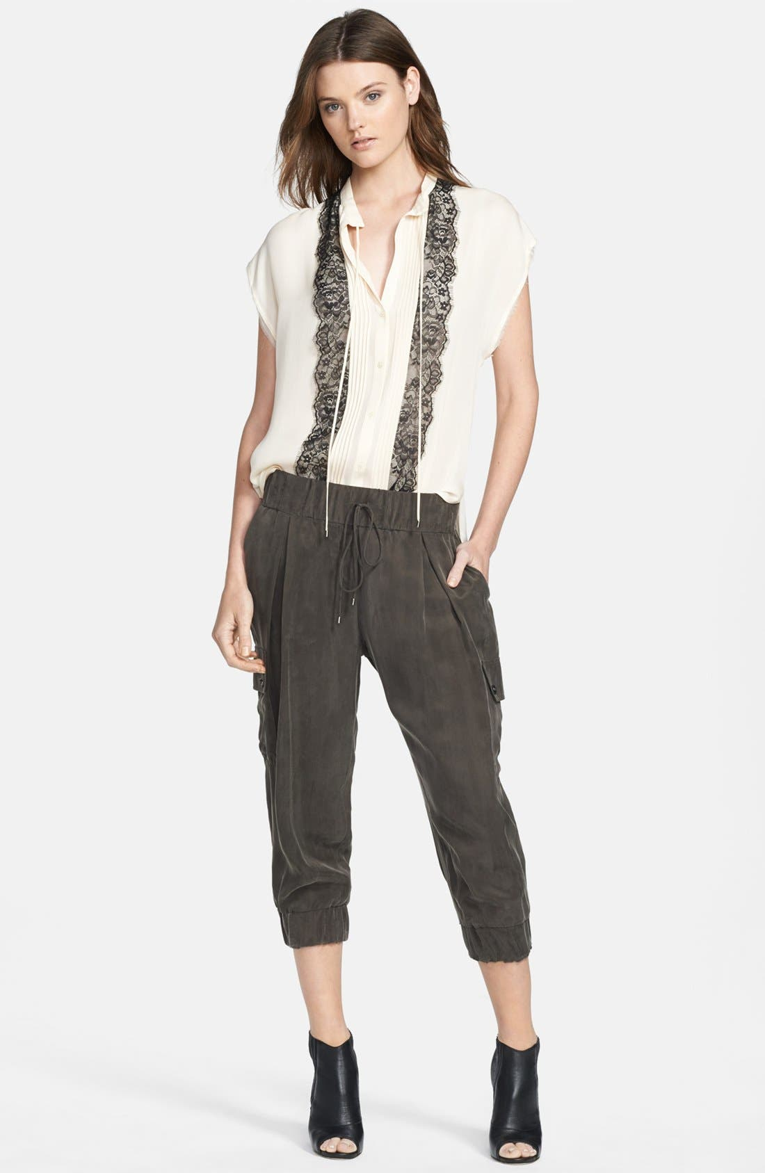 Alternate Image 3  - Haute Hippie Crop Cargo Pants
