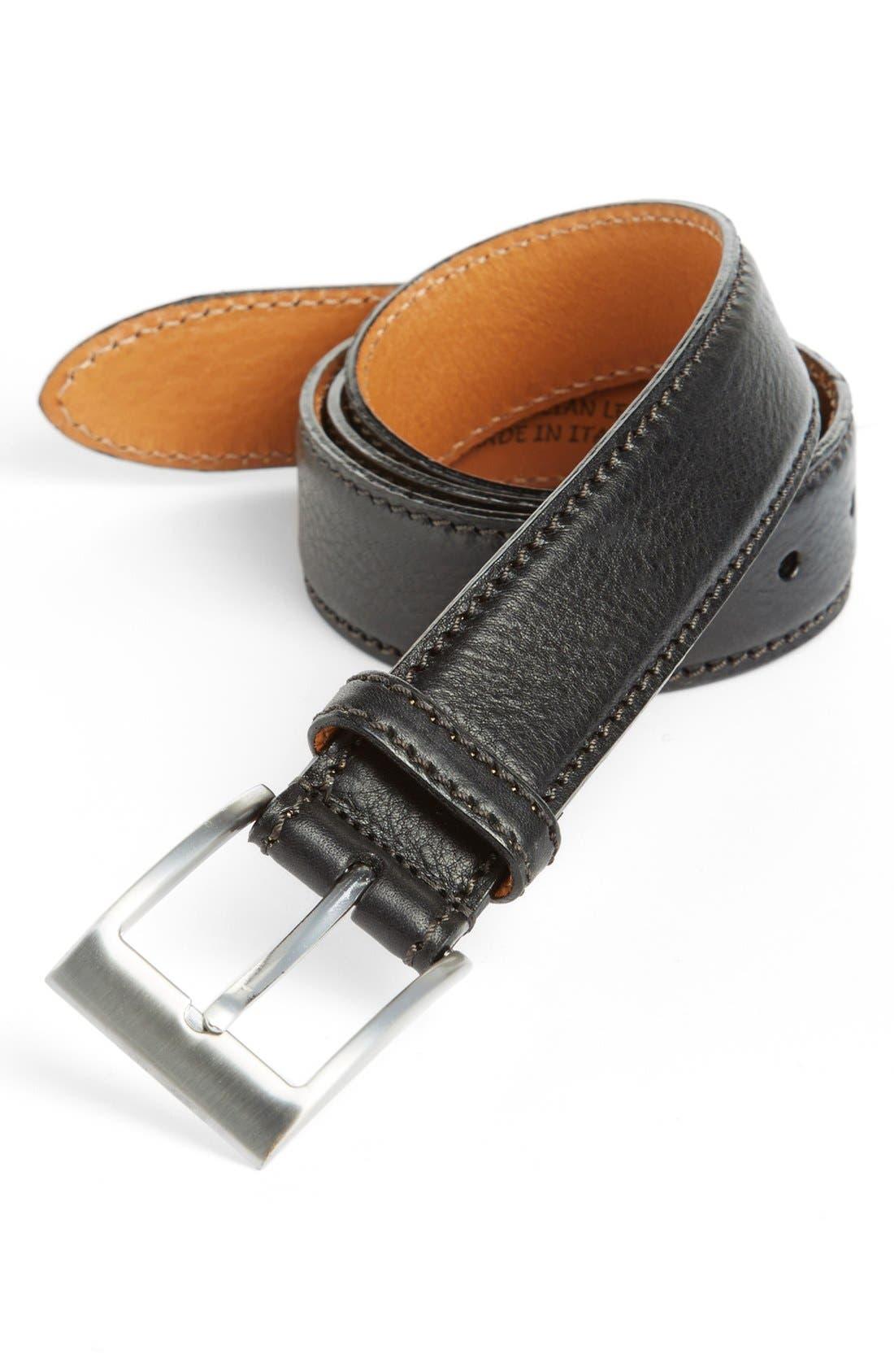 Alternate Image 1 Selected - Trafalgar 'Brandon' Leather Belt