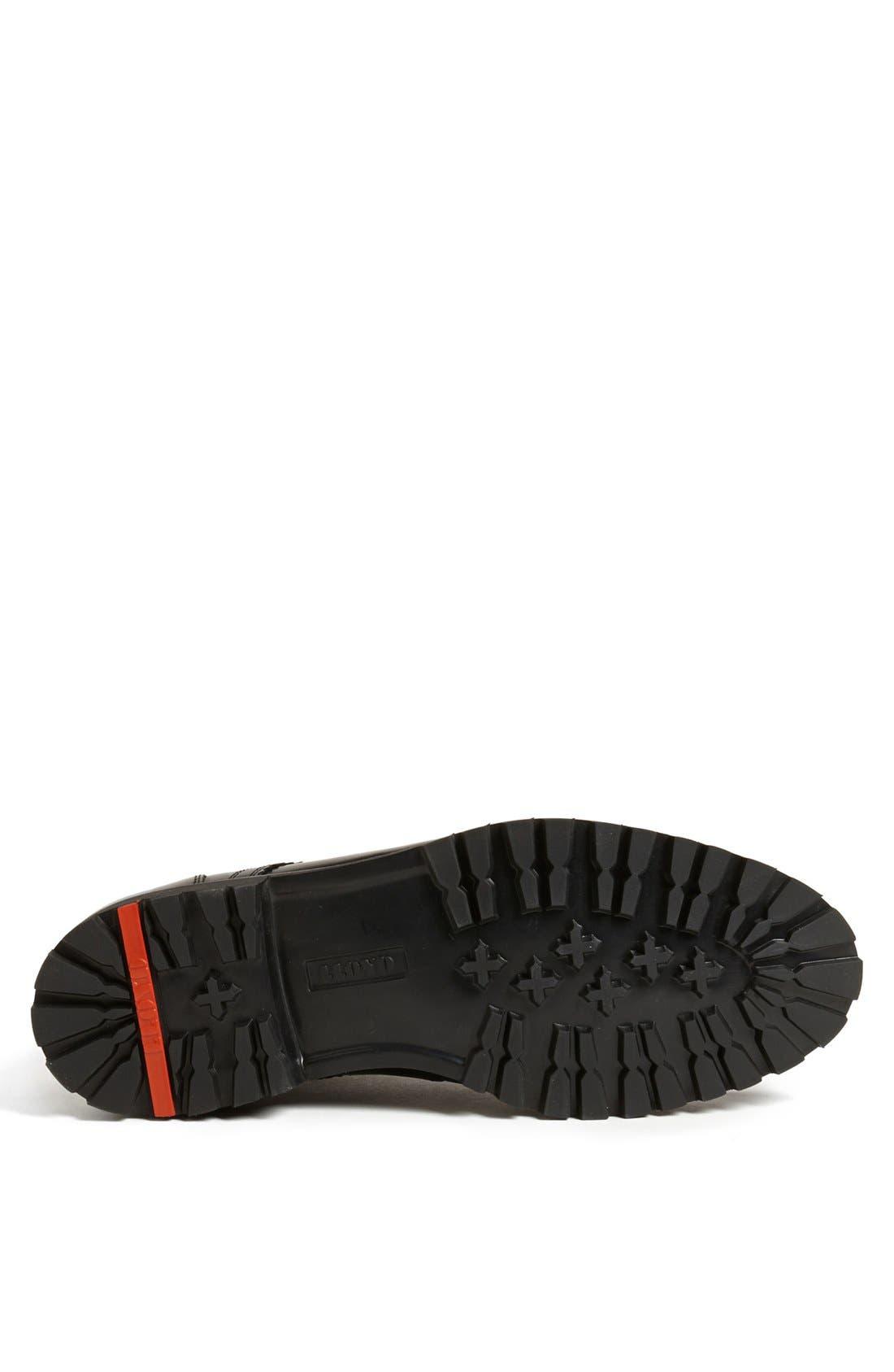 'Varello' Chukka Boot,                             Alternate thumbnail 4, color,                             Black