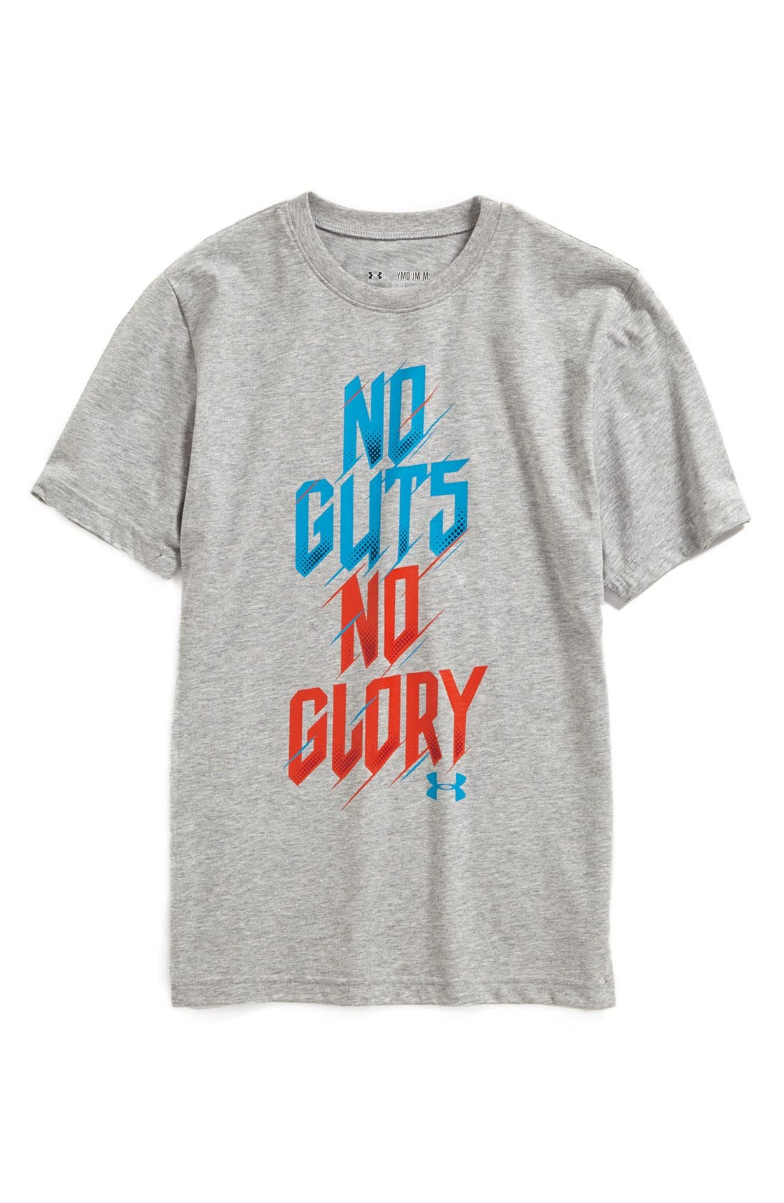 Alternate Image 1 Selected - Under Armour 'No Guts No Glory' T-Shirt (Big Boys)