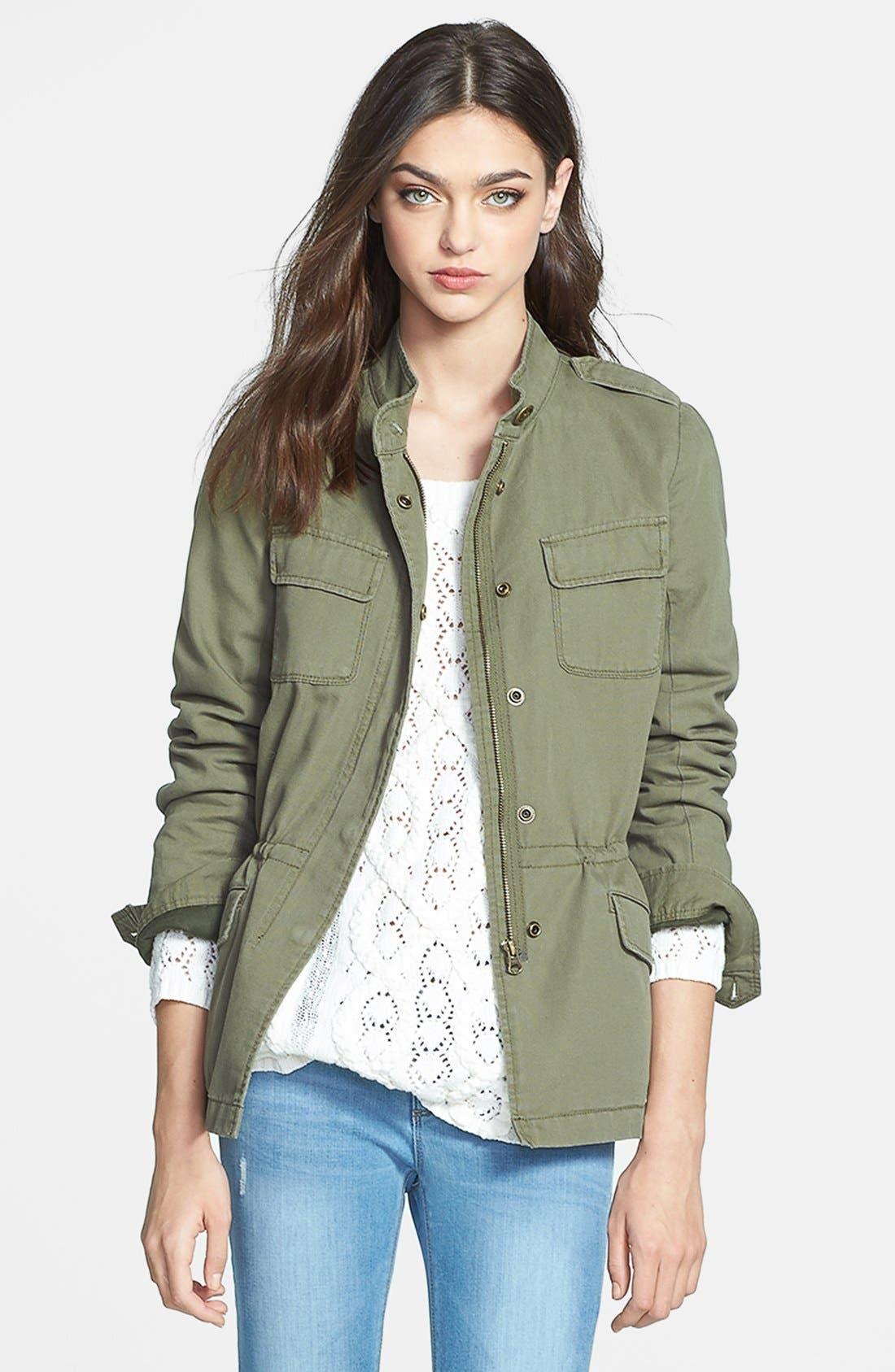 Alternate Image 1 Selected - Hinge® 'Expedition' Cotton Twill Jacket