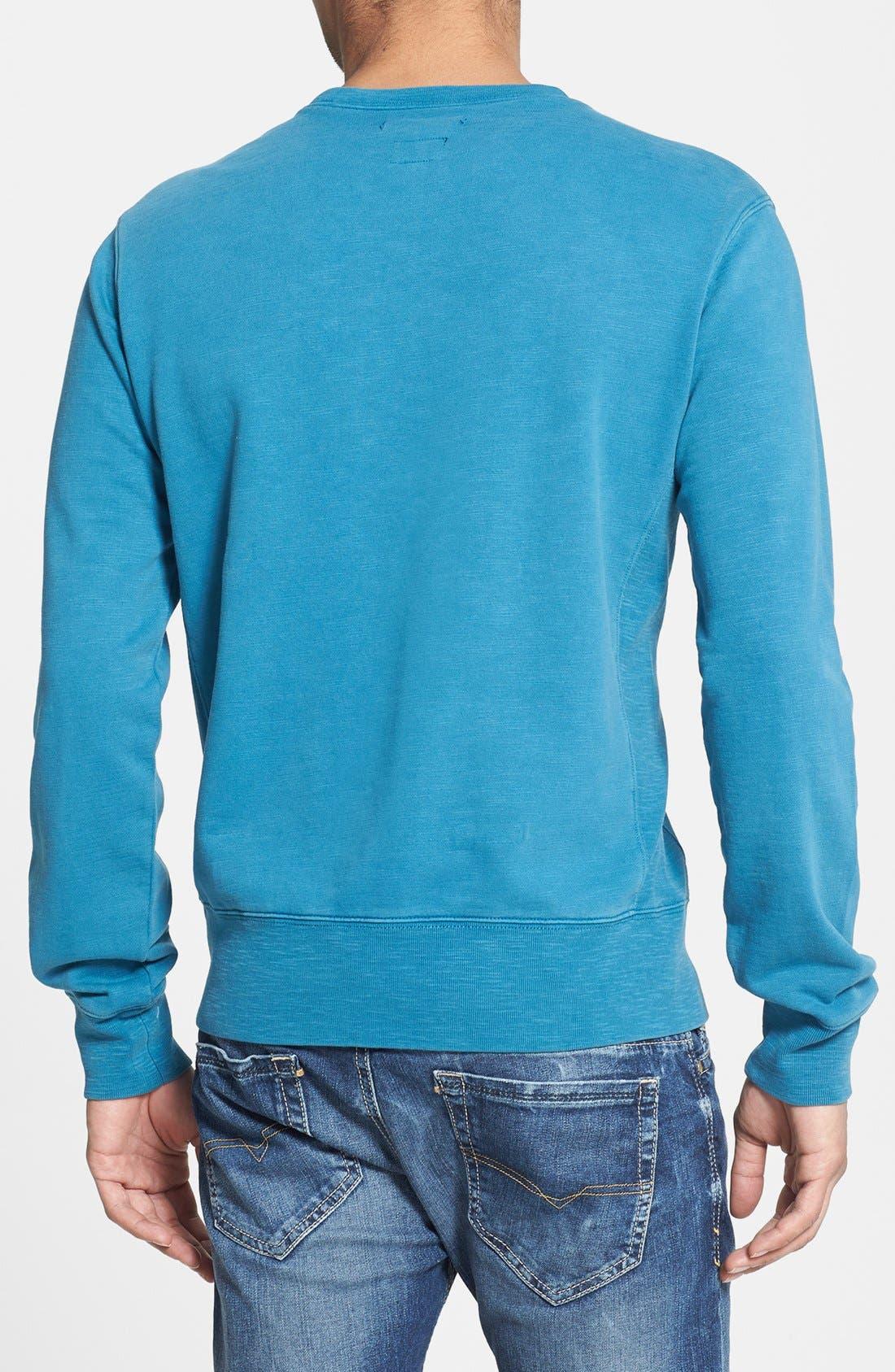 Alternate Image 2  - RVCA 'Desert Sun' Crewneck Sweatshirt