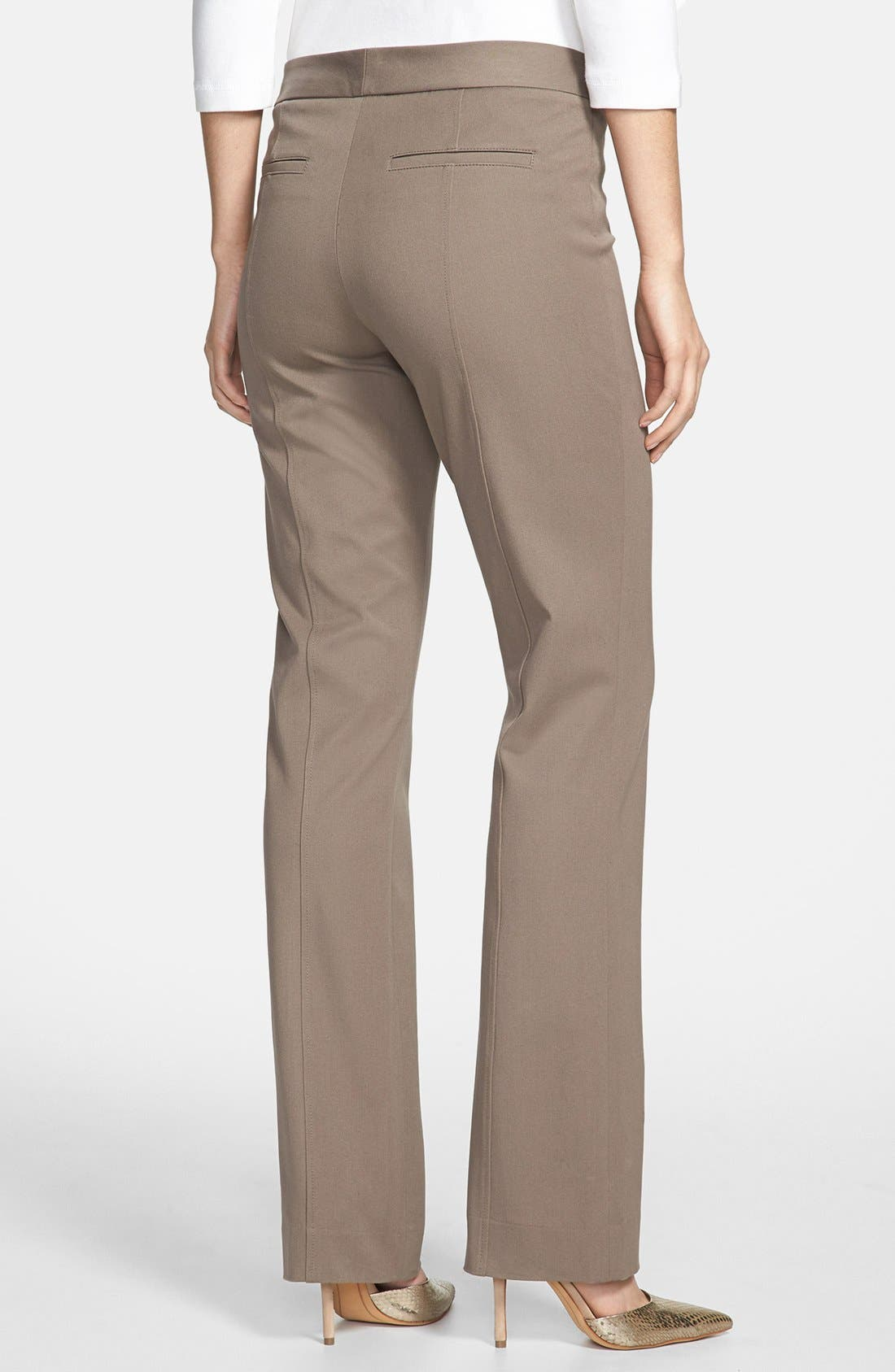 Alternate Image 2  - NYDJ Straight Leg Stretch Twill Pants