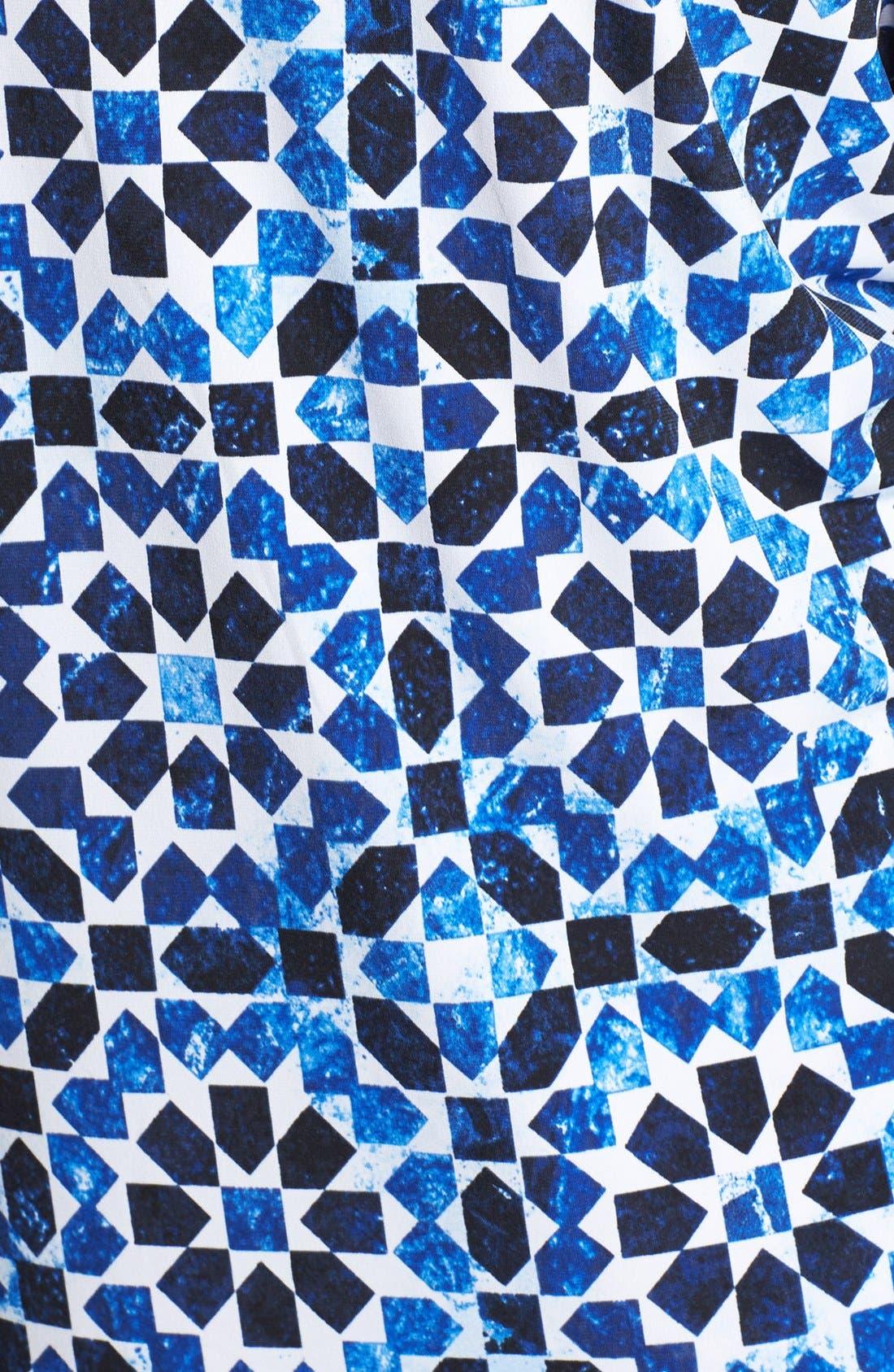 Alternate Image 3  - MICHAEL Michael Kors Print Jersey Sheath Dress (Plus Size)