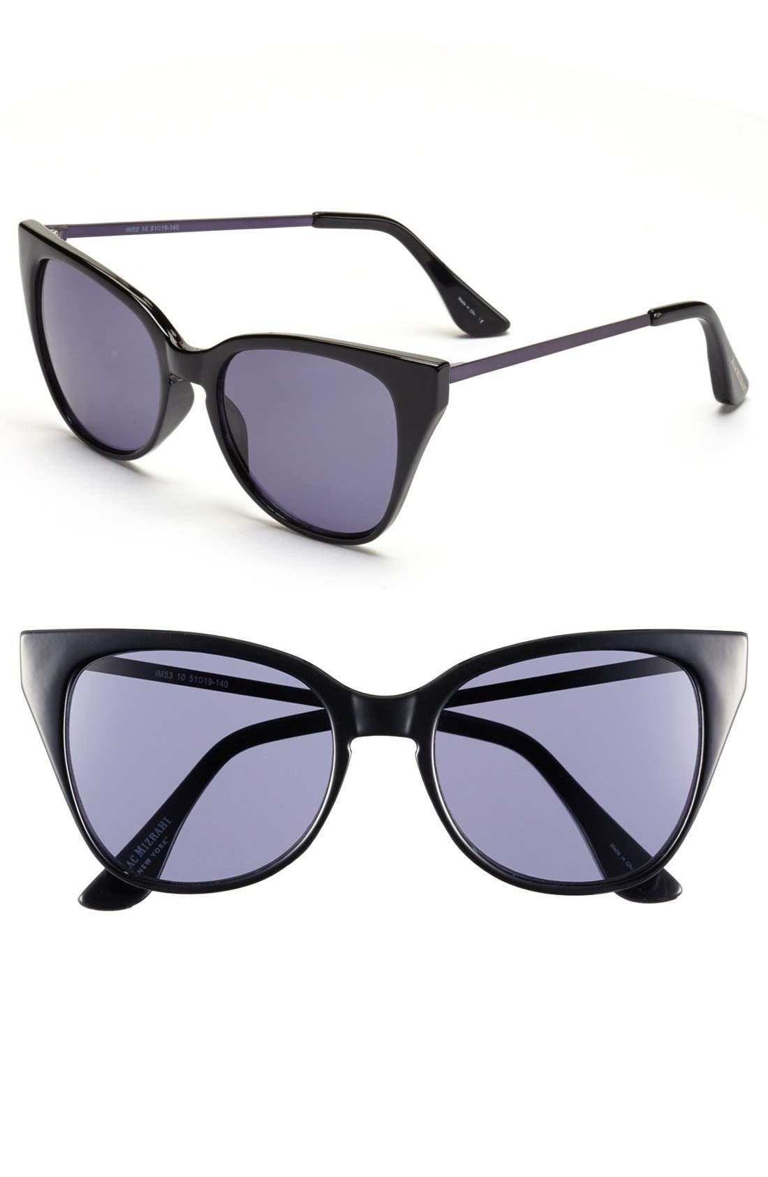 Alternate Image 1 Selected - Isaac Mizrahi New York 51mm Retro Sunglasses