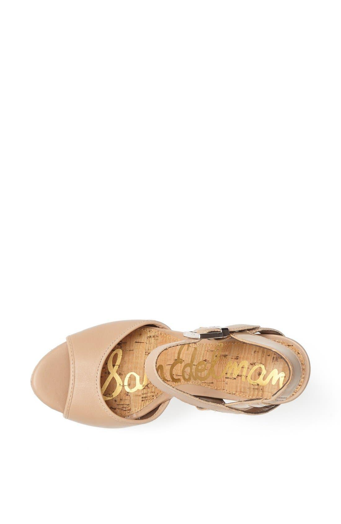 Alternate Image 3  - Sam Edelman 'Karina' Wedge Sandal