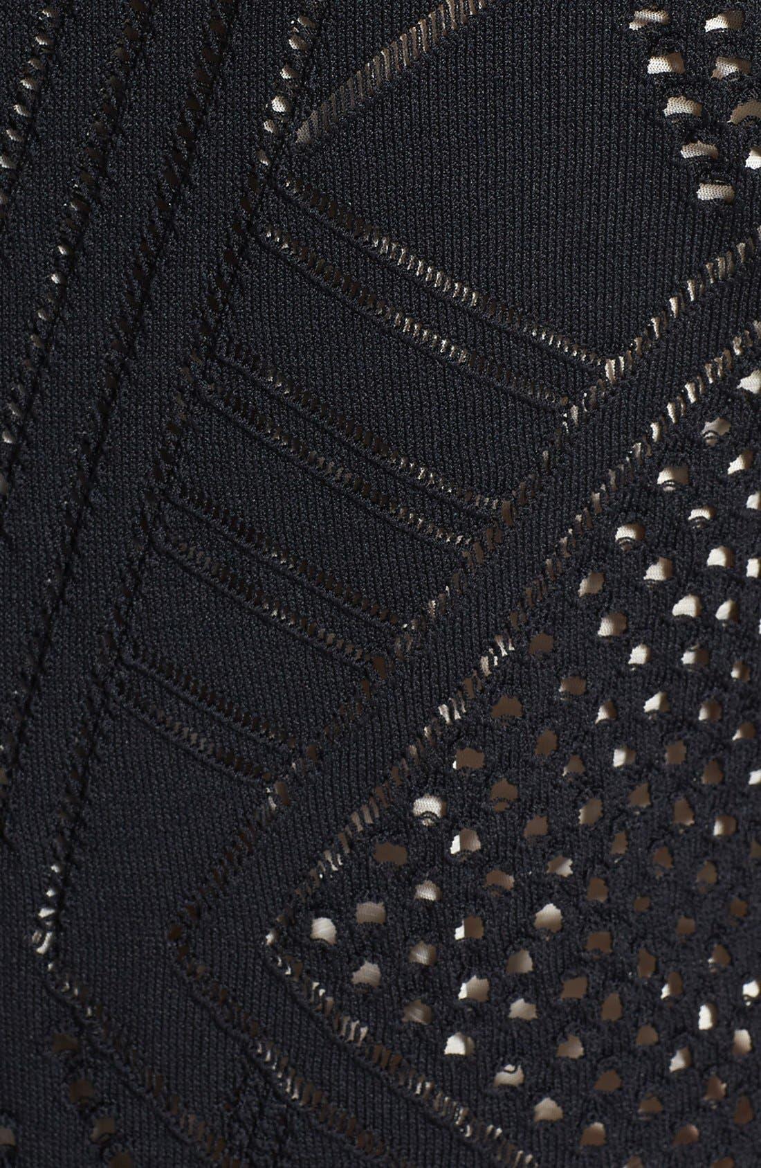 Alternate Image 3  - Calvin Klein Crochet Sweater