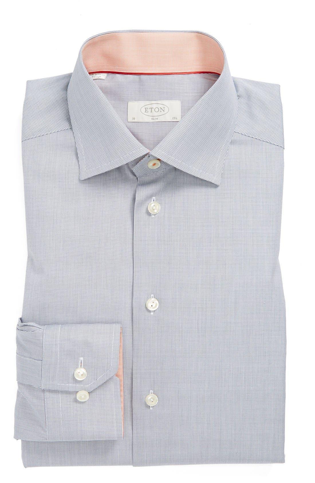 Main Image - Eton Slim Fit Non-Iron Dress Shirt