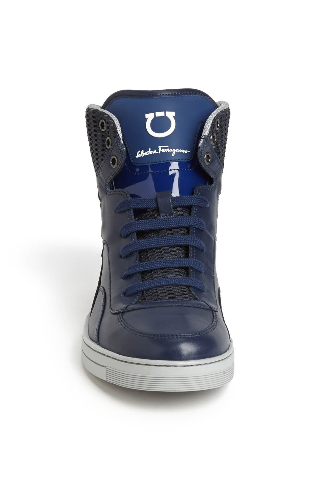 Alternate Image 3  - Salvatore Ferragamo 'Robert' High Top Sneaker
