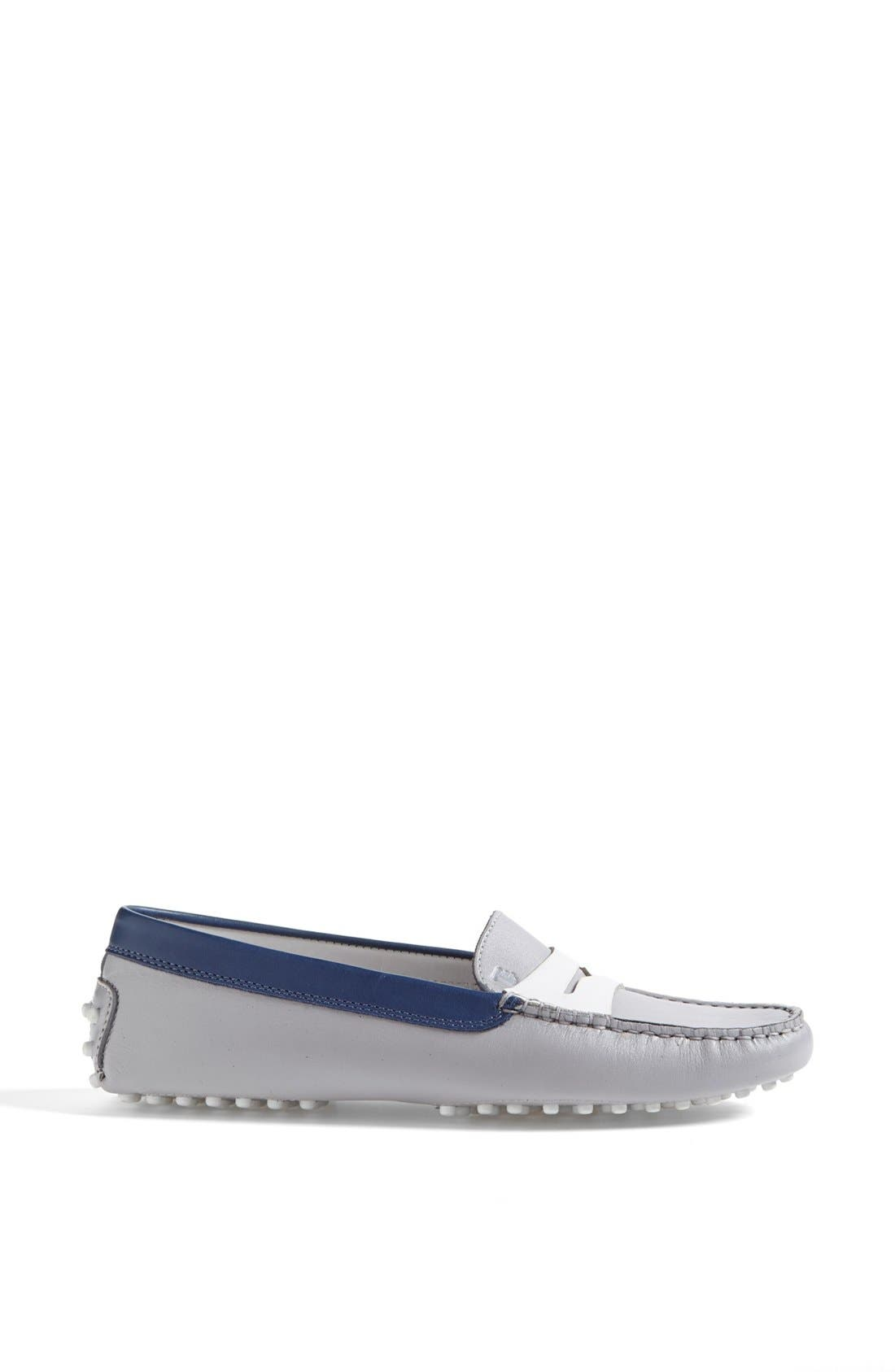 Alternate Image 4  - Tod's 'Gommini' Colorblocked Leather Driving Moccasin