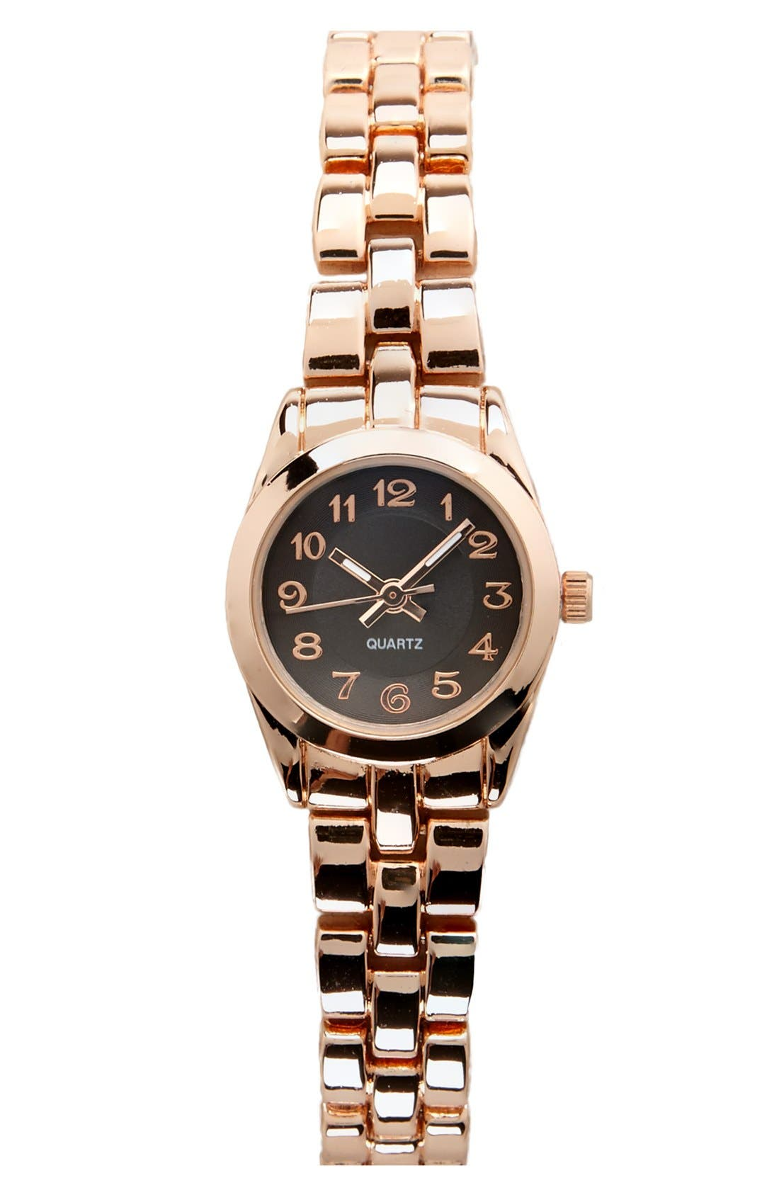 Alternate Image 1 Selected - Titanium Slim Bracelet Watch, 22mm (Juniors) (Online Only)