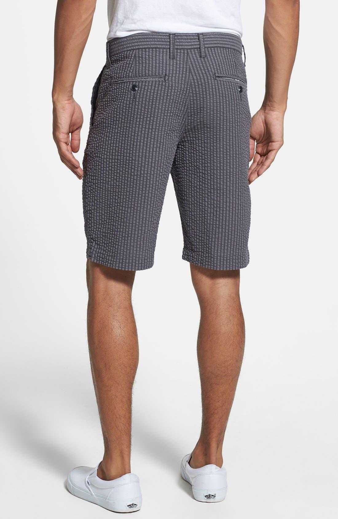 Alternate Image 2  - 1901 Seersucker Shorts