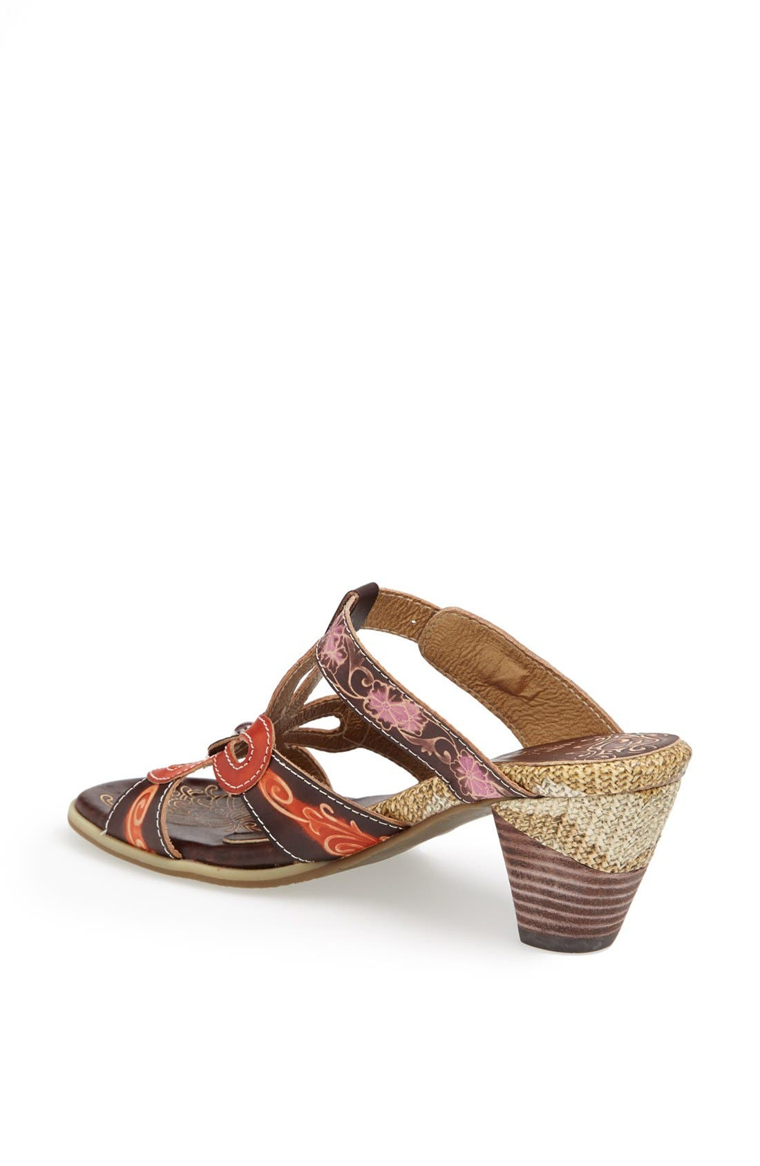 Alternate Image 2  - Spring Step 'Queenie' Leather Sandal