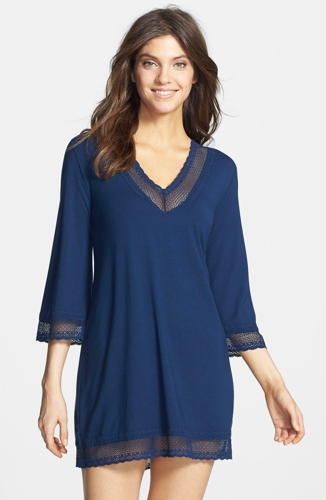 Main Image - Eberjey 'Gisele' Jersey Tunic Sleep Shirt
