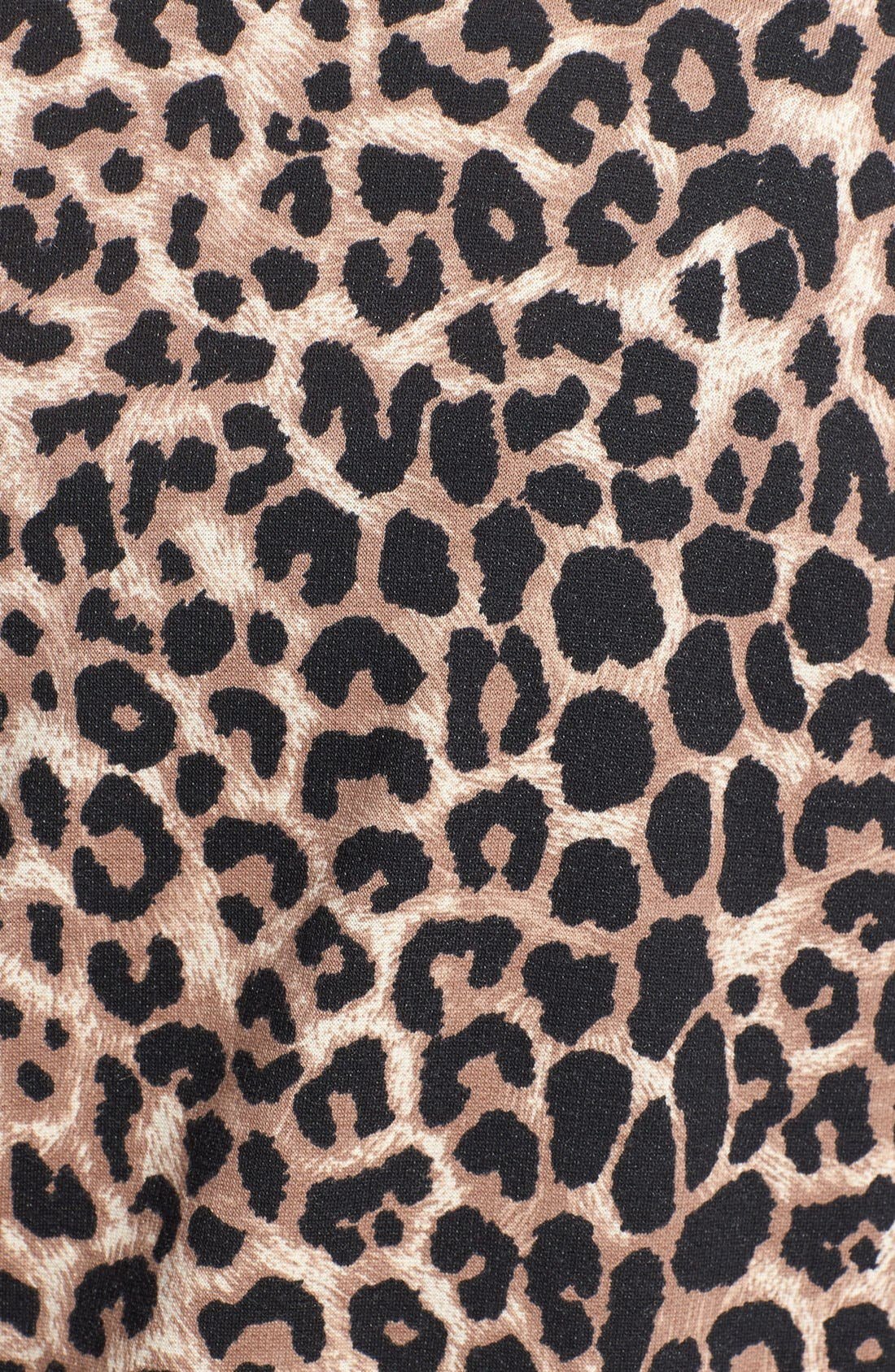 Alternate Image 3  - Bobeau Animal Print Fleece Wrap (Plus Size)