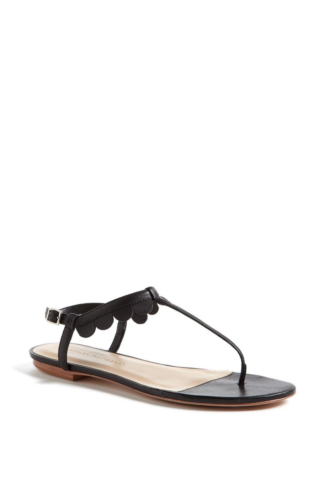 Alternate Image 1 Selected - Loeffler Randall 'Jude' Scalloped Sandal (Online Only)
