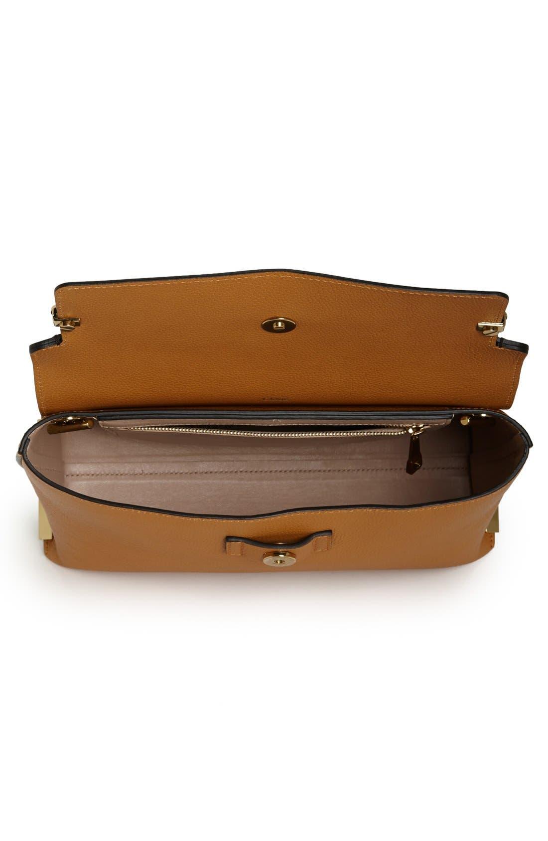 Alternate Image 3  - Chloé 'Clare' Tricolor Leather Shoulder Bag