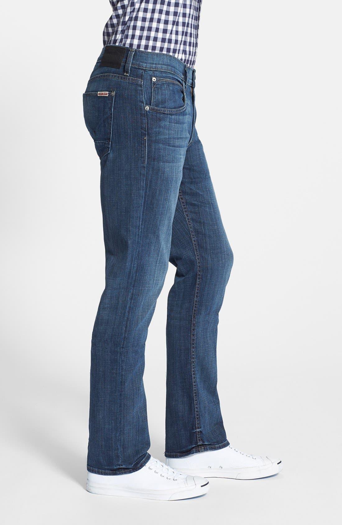 Alternate Image 3  - Hudson Jeans 'Byron' Slim Straight Leg Jeans (Harris)