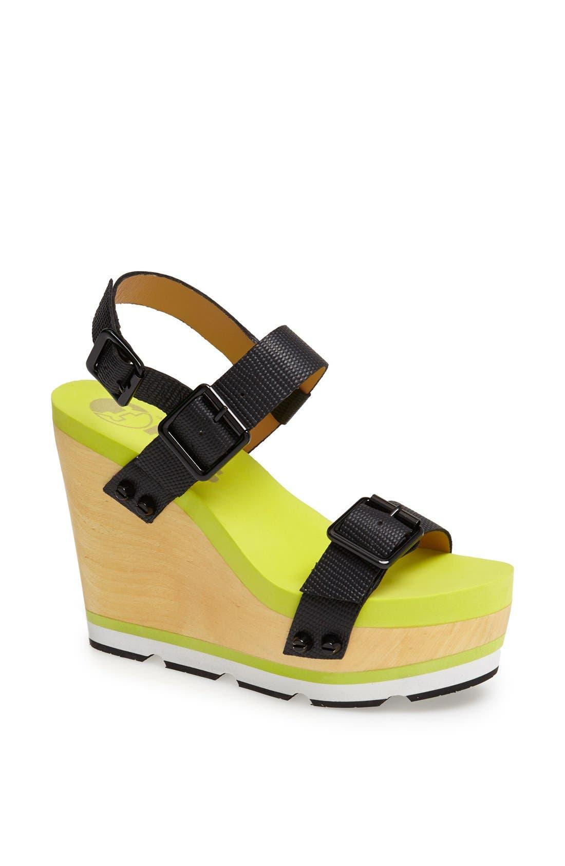 Main Image - Flogg 'Claudia' Wedge Platform Sandal